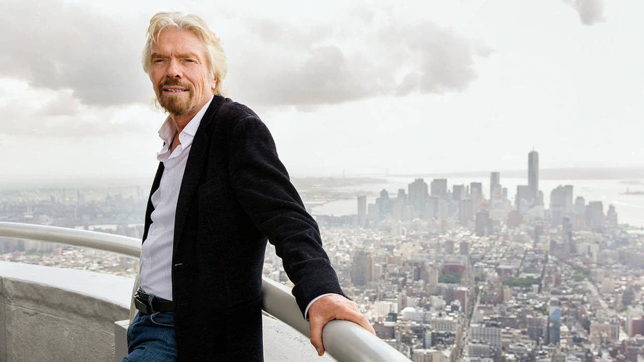 Conference Speaker Richard Branson - By Promotivate Speaker Agency
