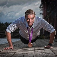 Alan Campbell Olympic Rower Speaker by PROMOTIVATE Speakers Agency London 02078711829