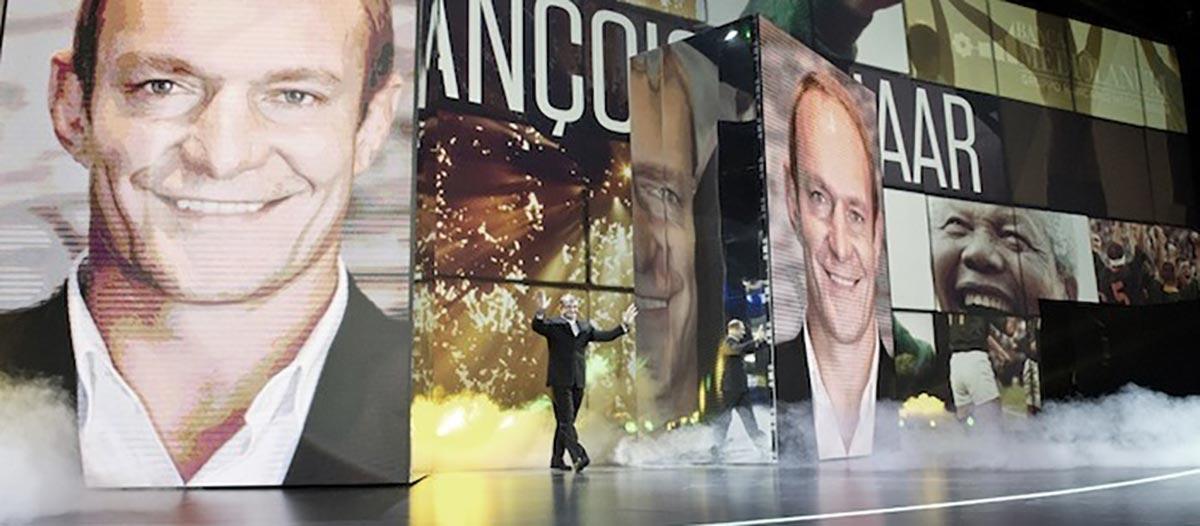 Conference Speaker Francois Pienaar - By Promotivate Speaker Agency