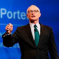 Michael Porter Economist - Speaker by ProMotivate™ Agency Europe