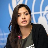 Yusra Mardini by ProMotivate™ Speakers Agency Europe