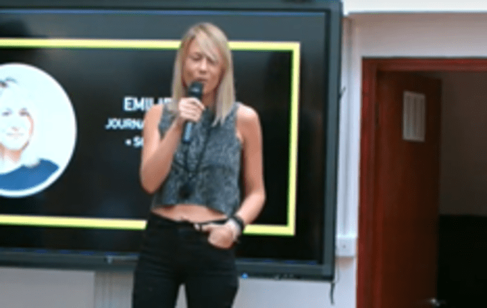 Conference Speaker Emilie Vidaud - By Promotivate Speaker Agency